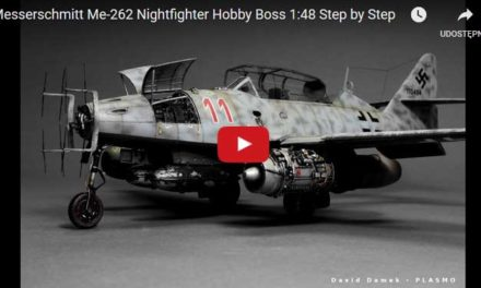 Messerschmitt Me-262 Nightfighter Hobby Boss 1:48 – Video