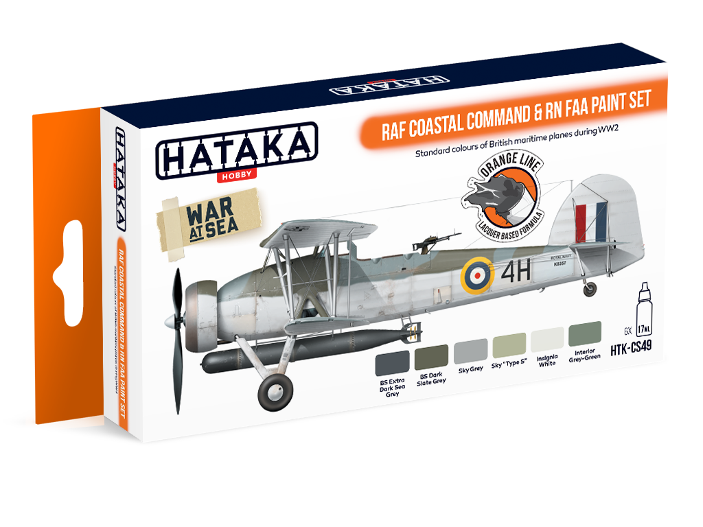 Coastal command colours Hataka