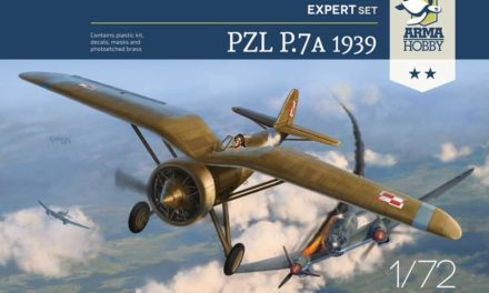 Model PZL P.7a Expert Set 1939 – recenzja inbox