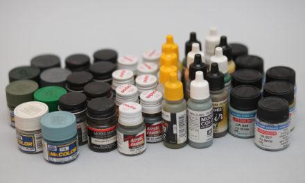 Rodzaje farb modelarskich