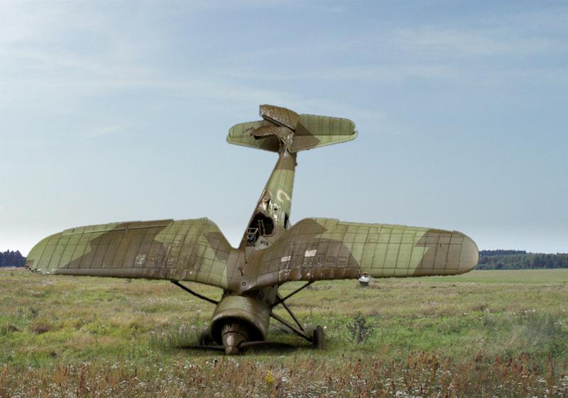 Malowanie kamuflażu PZL P.11c, Mirage-Hobby 1/48