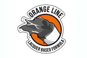 Hataka Hobby lakiery celulozowe do malowania aerografem Orange Line 17ml