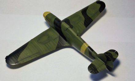 Cieniowanie powierzchni samolotów pokrytych płótnem