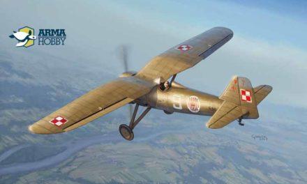 Model PZL P.7a z Arma Hobby w 1/72