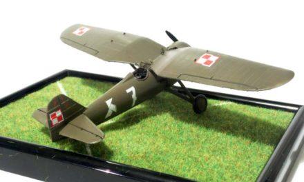PZL P.7a  1/72  Arma Hobby – recenzja – crash test
