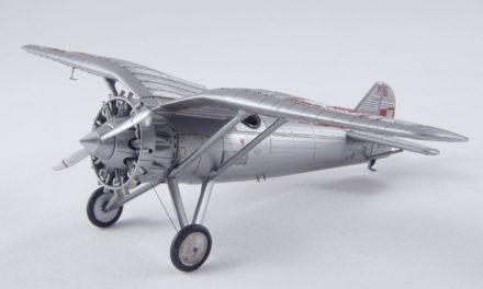 Budowa modelu samolotu PZL P.6/I – skala 1:72