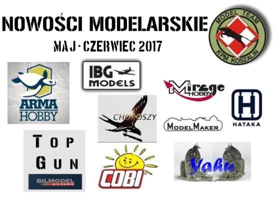 Nowości z Polski Maj-Czerwiec 2017