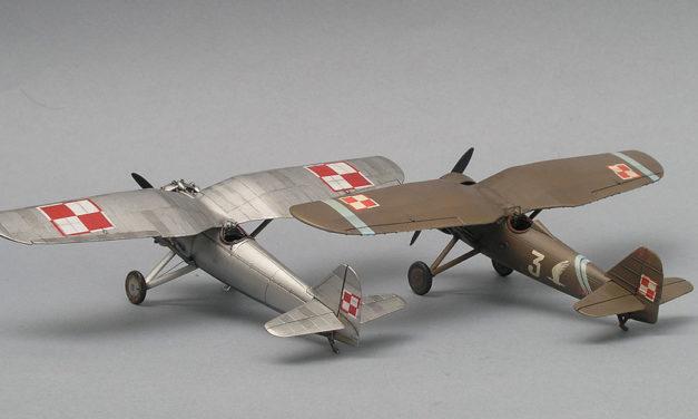 Model PZL P.7a – prosto z pudełka