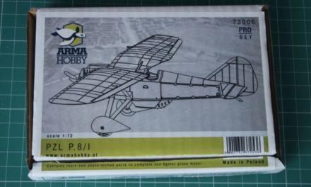 Recenzja PZL P.8/I z Arma Hobby 1/72