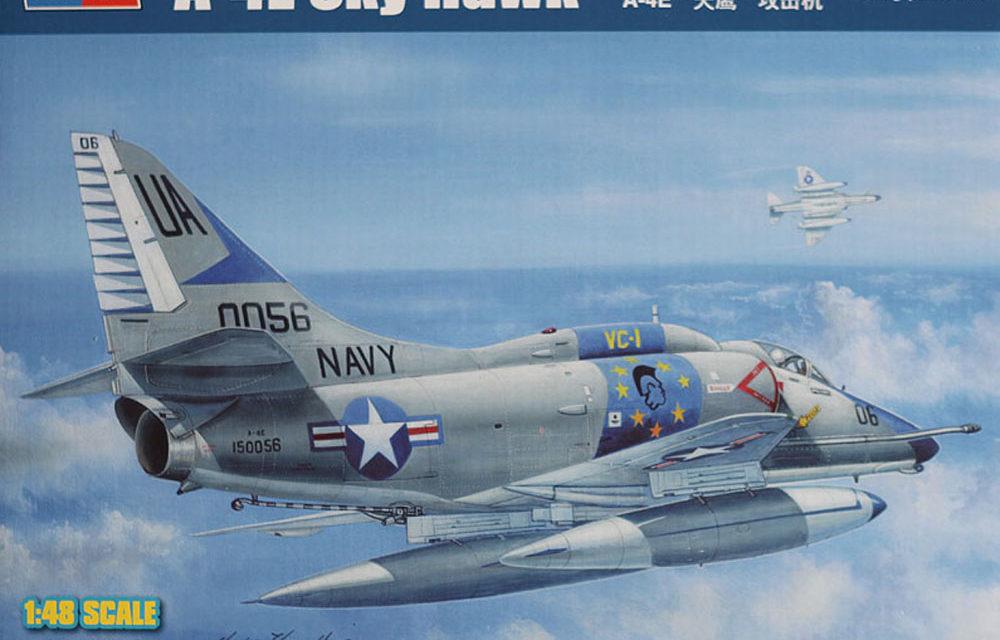 A-4E Skyhawk 1/48 Hobby Boss – Recenzja In-Box