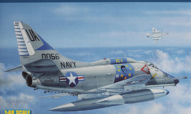A-4E Skyhawk 1/48 Hobby Boss – Recenzja In-Box