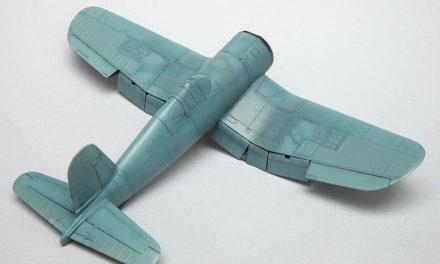Malowanie i cieniowanie F4U-1 1/72 Tamiya