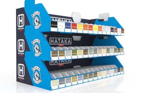Nowa seria farb Hataka – Blue Line małe buteleczki 10ml!