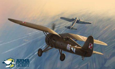 Modele myśliwca PZL P.11c z Arma Hobby