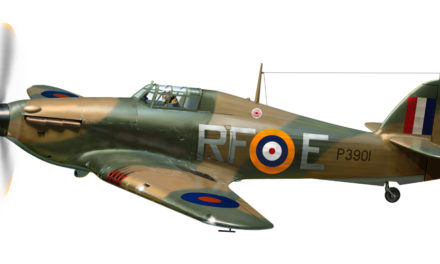 Zapowiedź modelu Hawker Hurricane Mk I z Arma Hobby 1/72