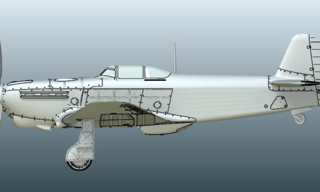 Zapowiedź modelu Jak-1b z Arma Hobby