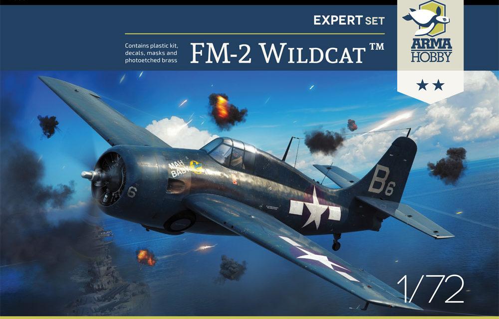 Dobre zdjęcia FM-2 Wildcat Expert Set z Arma Hobby