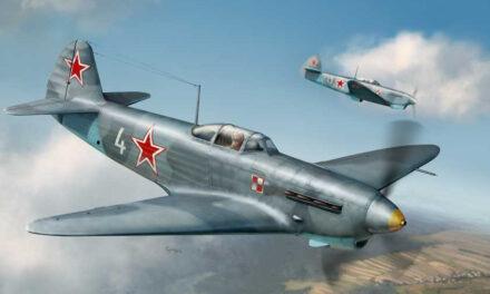 """1 Pułk Lotnictwa Myśliwskiego """"Warszawa"""" – rys historyczny 1943-45"""