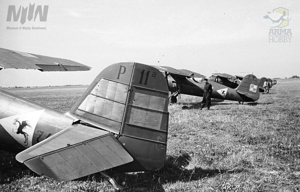 Nowe zdjęcia PZL P.11c – kolekcja Henryka Poddębskiego